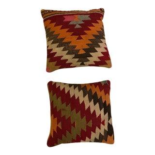Turkish Kiliam Pillows - A Pair