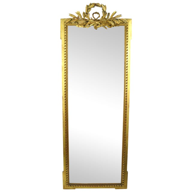 Image of 19th Century Louis XVI French Mirror