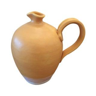 Moye Thompson Orange Ceramic Pitcher