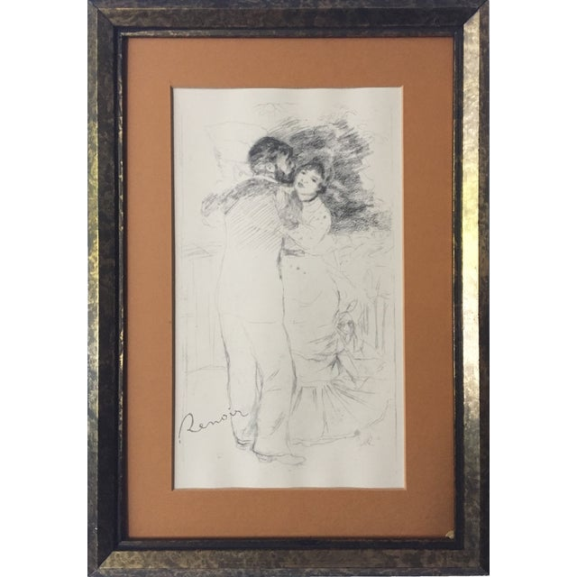 "Vintage Renoir Reprint ""Dance at Chatou"" - Image 1 of 7"