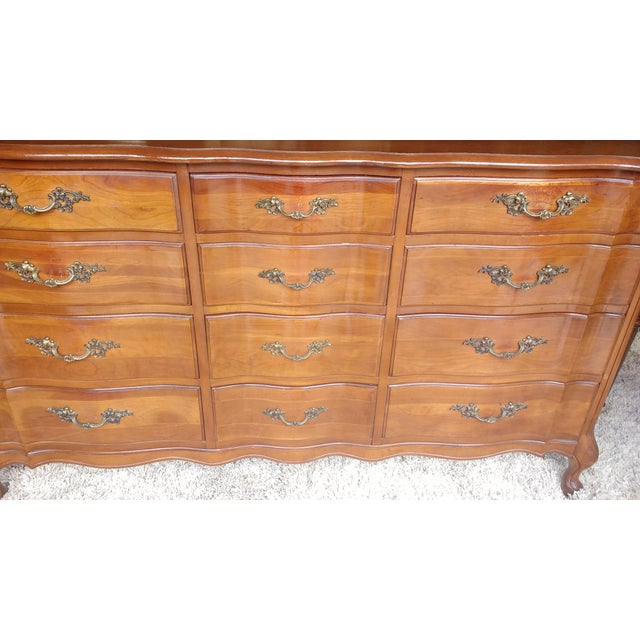 Cherrywood French Provicial Chest of Drawers - Image 3 of 8