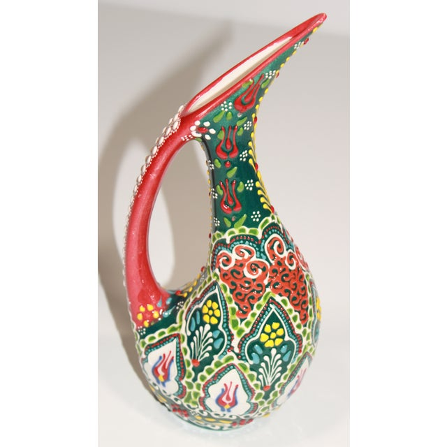 Image of Vase made from Turkish Tile Art