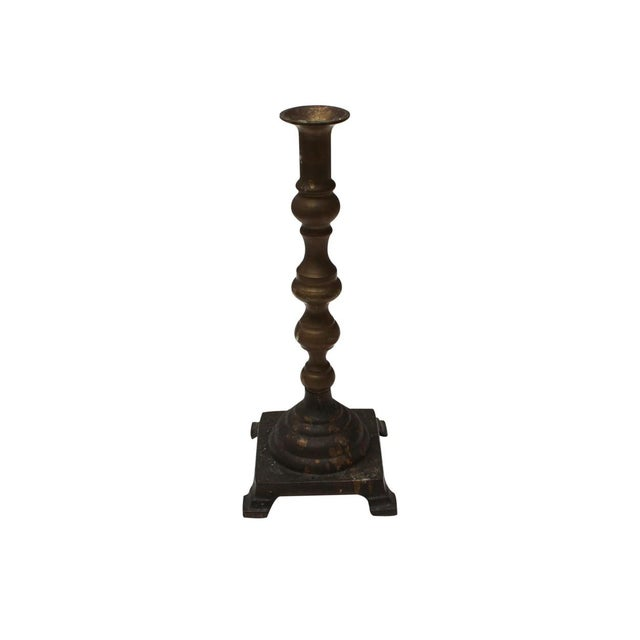 Brass Candle Sticks - A Pair - Image 4 of 4