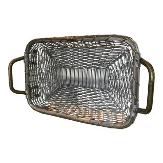 Indian Handmade Metal Basket