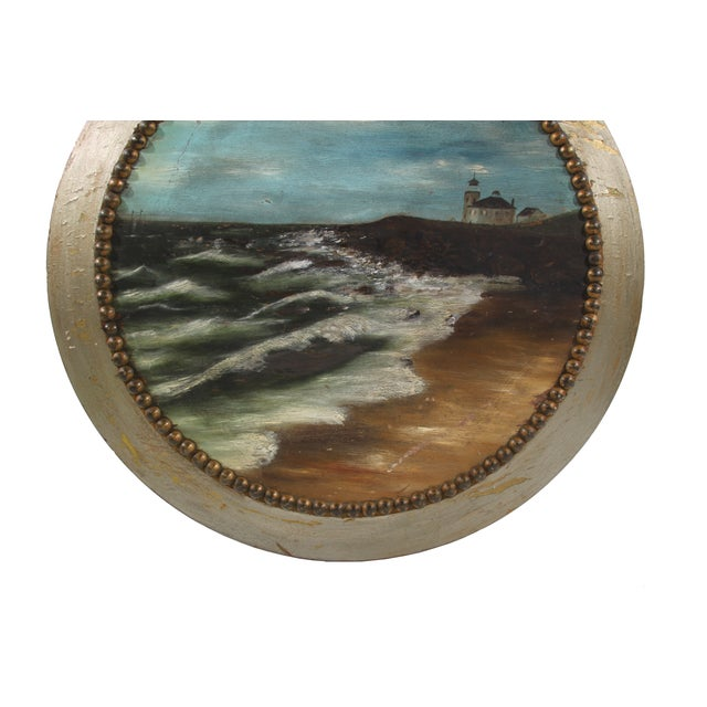 Image of Round Lighthouse Painting