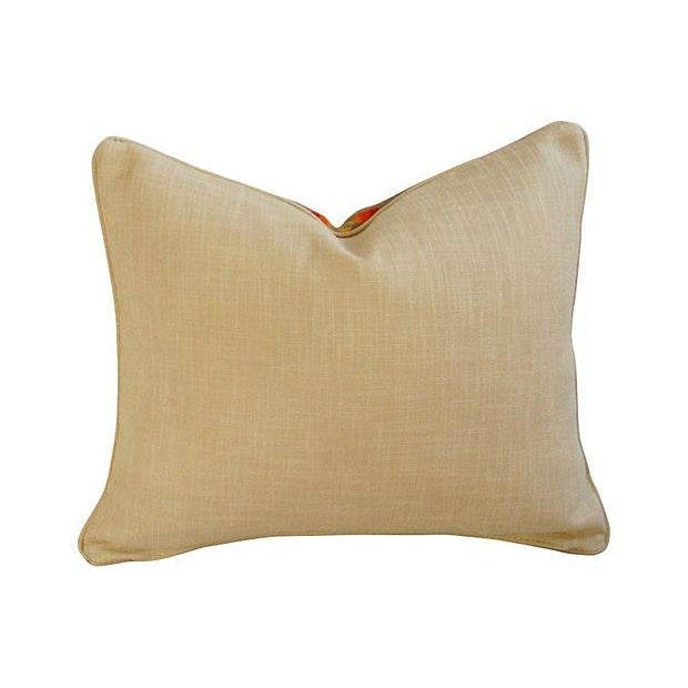 Image of Custom Ralph Lauren Beacon Camp Blanket Pillow