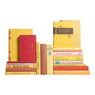 Mid-Century Gardening Books - Set of 20