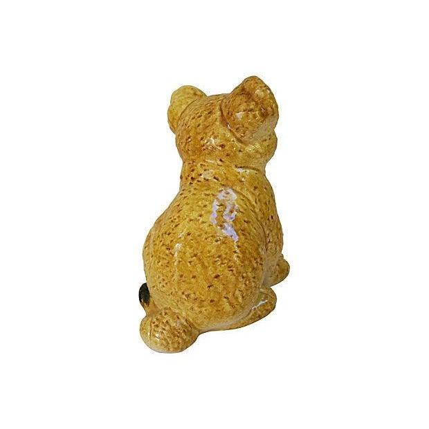 Image of Mid-Century Italian Terracotta Lion Cub