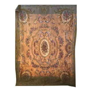 Beige Aubusson Tapestry - 8' x 10'