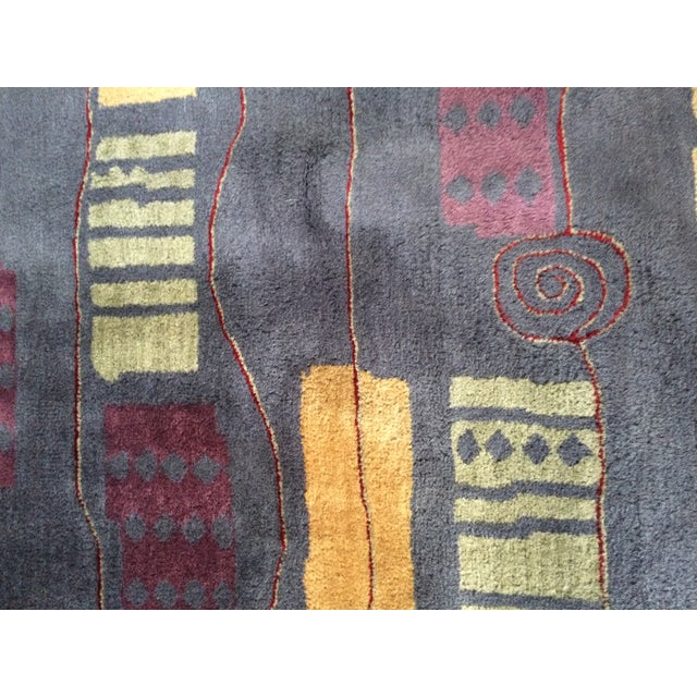Contemporary Wool Rug - 5' x 8' - Image 6 of 7