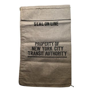 NewYork City Transit Authority Bank Bag