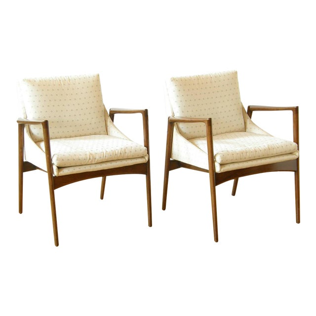 Image of Pair of Kofod-Larsen Occasional Chairs