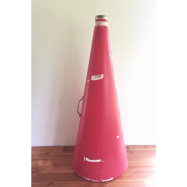 Image of Personalized Pink Cheer Cone