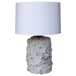 Faux Barnacle-Covered Custom Table Lamp