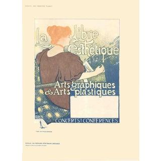 Vintage 1897 La Libre Esthetique Poster