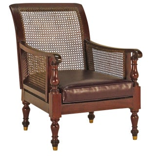 20th Century English Leather Chair