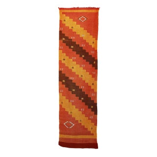 """Vintage Moroccan Cactus Silk Rug - 2'2"""" x 7'9"""""""