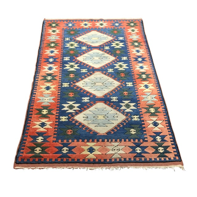 Sultanhani Turkish Hand-Woven Rug - 4' X 7' - Image 1 of 5