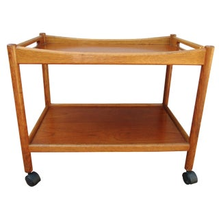Hans Wegner Danish Modern Bar Cart