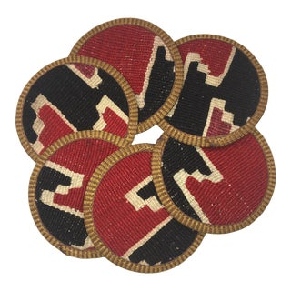 Kilim Coasters Set of 6 | Asli