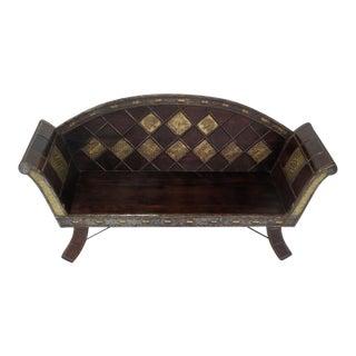 Handmade Indian Teak Bench