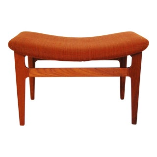 Finn Juhl France & Son Danish Modern Footstool Model Fd-140