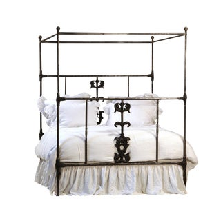 Cast Iron Canopy Bed Queen