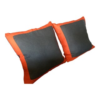 Belgian Linen Pillows - a Pair