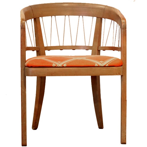 Edward Wormley 1940s Drexel Side Chairs – Pair - Image 3 of 6