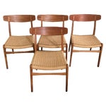 Image of Hans Wegner CH-23 Dining Chairs - Set of 4