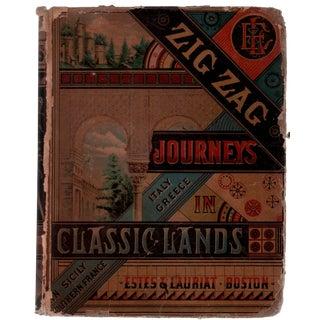 """1881 """"Zig Zag Journeys in Classic Lands"""""""