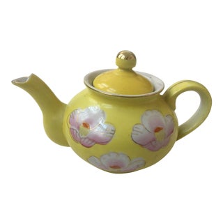 Japanese Porcelain Decorative Teapot
