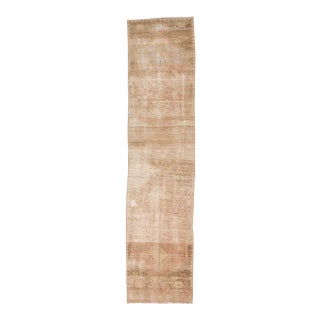 Distressed Turkish Runner Rug - 2′4″ × 9′9″