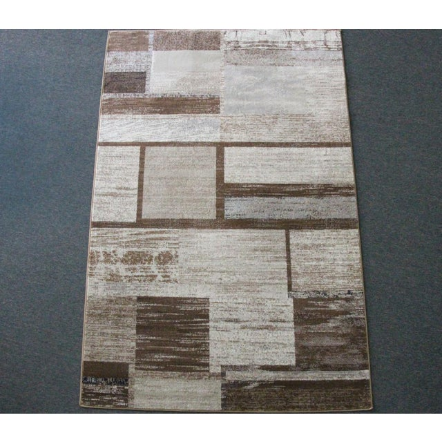 "Brown Neutral Rug - 5'3"" X 7'7"" - Image 2 of 5"