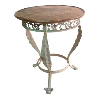 19th Century Bronze Table