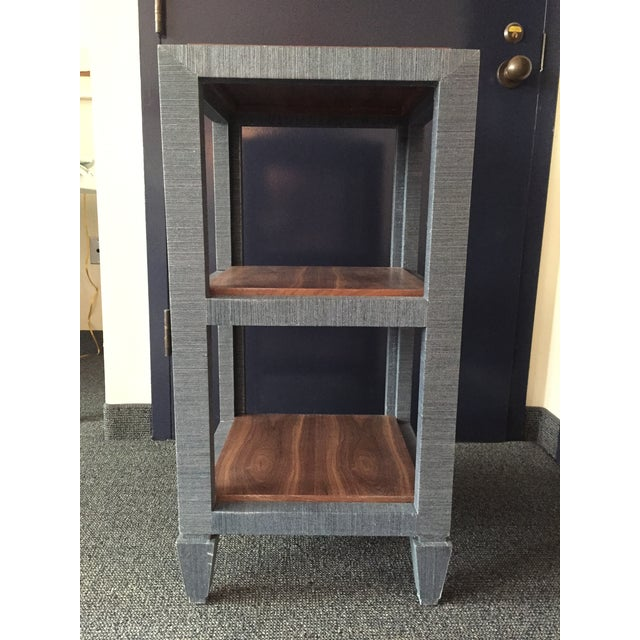 Bungalow 5 Grasscloth Side Table - Image 4 of 7
