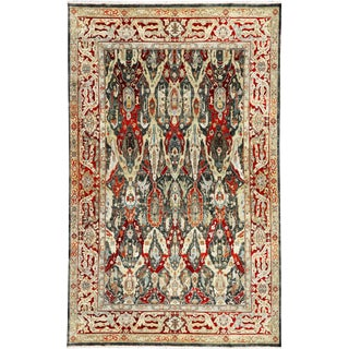 "Traditional Contemporary Hand Woven Rug - 10'1"" X 16'6"""