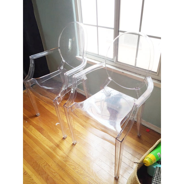 ModShop Replica Louis Ghost Chair - Pair - Image 3 of 4