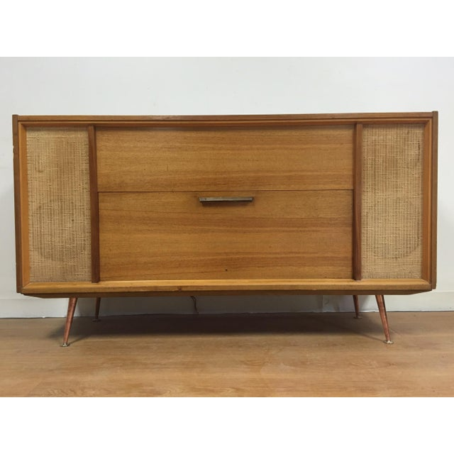 Mid-Century Saba German Radio Console - Image 2 of 11