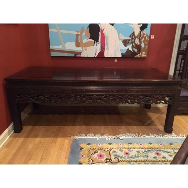 Chinese Rosewood Table - Image 3 of 8