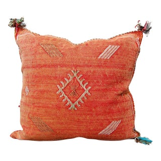 Love Hangover' Moroccan Sabra Silk Pillow