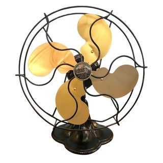 1938 Art Deco Emerson Seabreeze Electric Fan