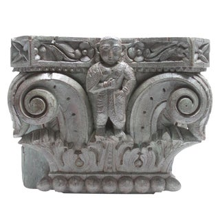 Antique Ebonized Corbel