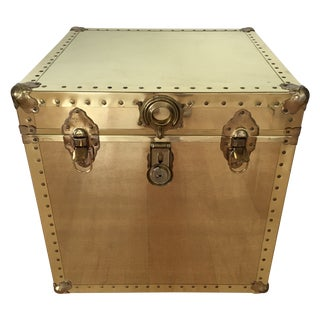 Brass Square Chest Trunk