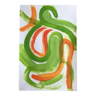 "Jessalin Beutler ""No. 74"" Acrylic Painting"
