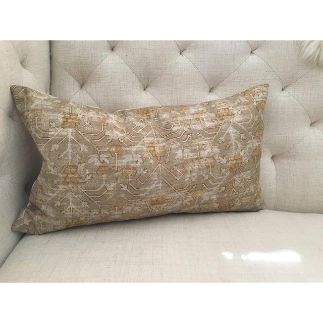 "Zak & Fox Khotan Custom Pillow Cover - 24""x14"" - Image 7 of 8"