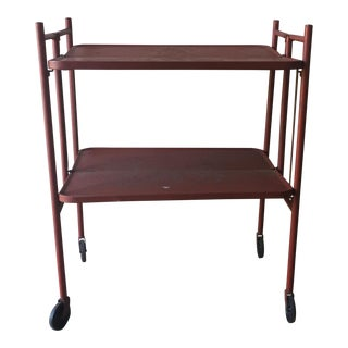1950s Relvon Folding Metal Shelf