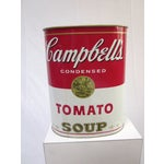 Image of Campbell's Soup Bin/Umbrella Stand - Warhol Style