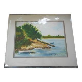 Sarasota Bay Watercolor Painting