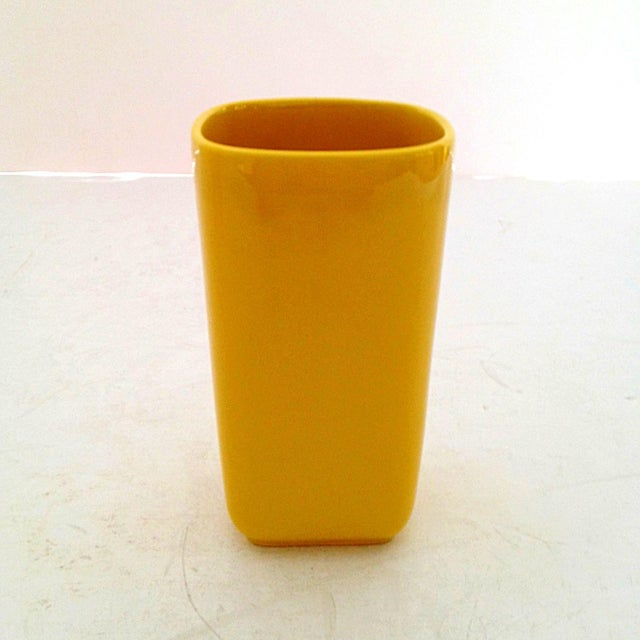 Franciscan Yellow Pitcher and Cup Set - Image 8 of 9